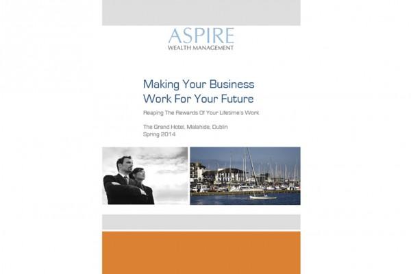 galway brochure design
