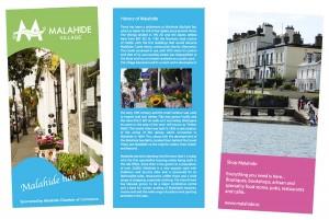 malahide brochure design